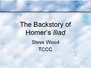 251 The Backstory of Homer�s Iliad
