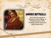 Sandro Botticelli:  His Works of Art