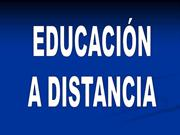 Educacin a distancia