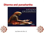 dharma and purushrtha