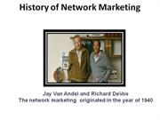 History of Network Marketing