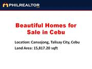 Beautiful Homes with Pool for Sale in Cebu