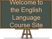 Welcome to the English Language Course Site
