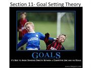 Goal setting theory
