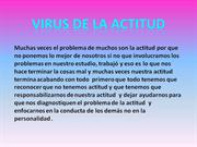 virus de la actitud