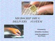 Microchip as a novel multiple drug delivery device