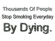 Cigarette Smoking and Its Ill Effects
