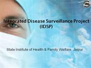 Integrated Diseases Surveillance Project