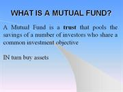 Copy of MUTUAL FUNDS