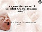 Integrated Management of Neonatal