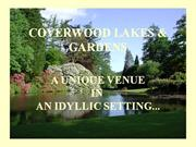 Coverwood Lakes and Gardens Reception Venue