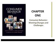 Schiffman Consumer Behavior Chap 01