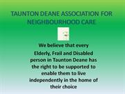 neighbourhood care taunton