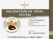 HVAC system Validation