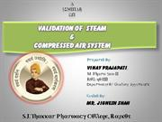 steam system & compressed air system validation