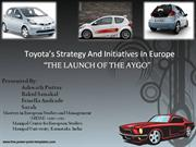 """""""The Launch of the Aygo"""""""