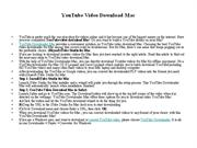 YouTube Video Download Mac