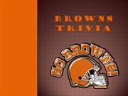 Browns trivia show