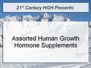 Assorted Human Growth Hormone Supplements