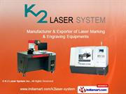 Non Metal Laser Marking & Engraving By K 2 Laser System Inc. Seoul