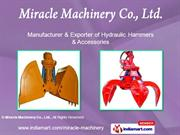 Hydraulic Hammers By Miracle Machinery Co., Ltd. Anyang