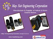 Fhp Induction Motor By May- Fair Engineering Corporation Delhi