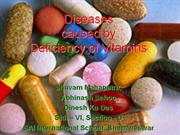 Deficiency Diseases of Vitamin