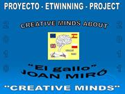6. Creative Minds about JOAN MIRO - Stories and paintings