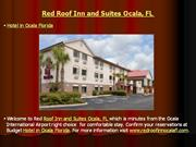 red roof inn and suites ocala, fl