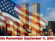 We Remember September 11, 2001