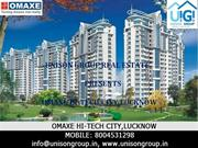 omaxe hitech city lucknow,omaxe hitech city,omaxe hitech city plots lu