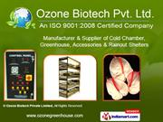 Humidifier & Temperature Controller By Ozone Biotech Private Limited
