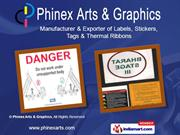 Industrial Stickers By Phinex Arts & Graphics Pune