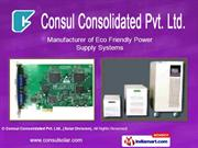 Solar Hybrid Ups By Consul Consolidated Private Limited(Solar