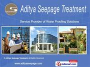 Waterproofing Contracter By Aditya Seepage Treatment Gurgaon
