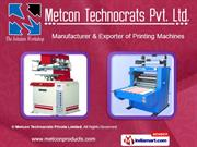 Technoshell-Hot Foil Stamping Machine. By Metcon Technocrats Private
