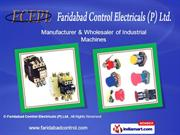 Engineering Products By Faridabad Control Electricals (P) Ltd.