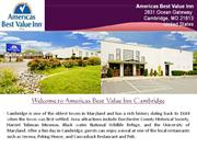 Americas Best Value Inn Cambridge Hotel