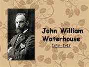 John William Waterhouse:  His Works of Art