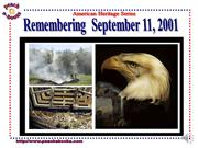 PEN 2946 Remembering September 11 2001