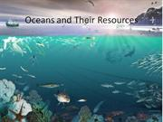 Oceans and Their Resources