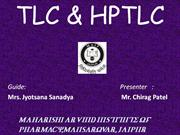 TLC & HPTLC by Chirag Patel
