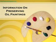 Facts About Preserving Oil Paintings