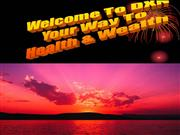 Way to Health and Wealth