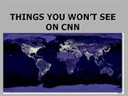 THINGS YOU WONT SEE
