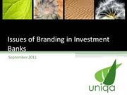 Branding Investment Banks (autorun)