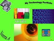 Technology portfolio - Sierra A . Period 4