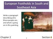 2-3 European Footholds in South and Southeast Asia