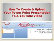 Convert PP to video