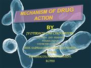 MECHANISM OF DRUG ACTION